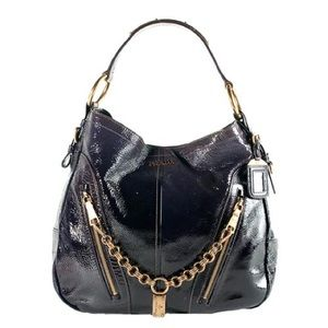 Prada Vernice Sfumata Hobo Handbag In Purple